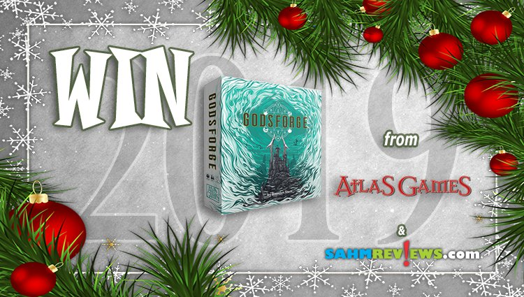 Holiday Giveaways 2019 – Godsforge by Atlas Games