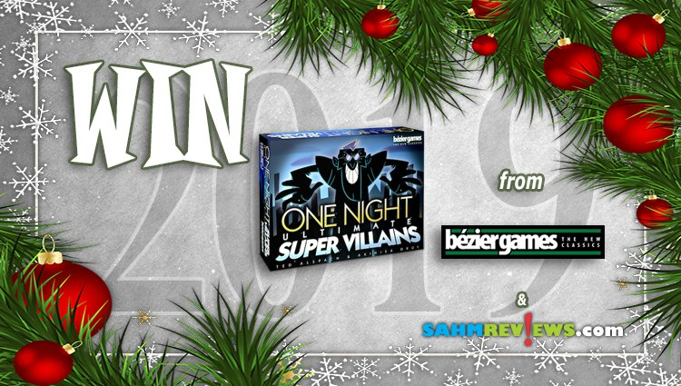 Holiday Giveaways 2019 – One Night Ultimate Super Villains by Bezier Games