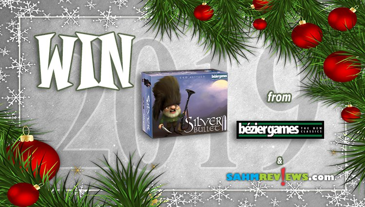 Holiday Giveaways 2019 – Silver Bullet by Bezier Games