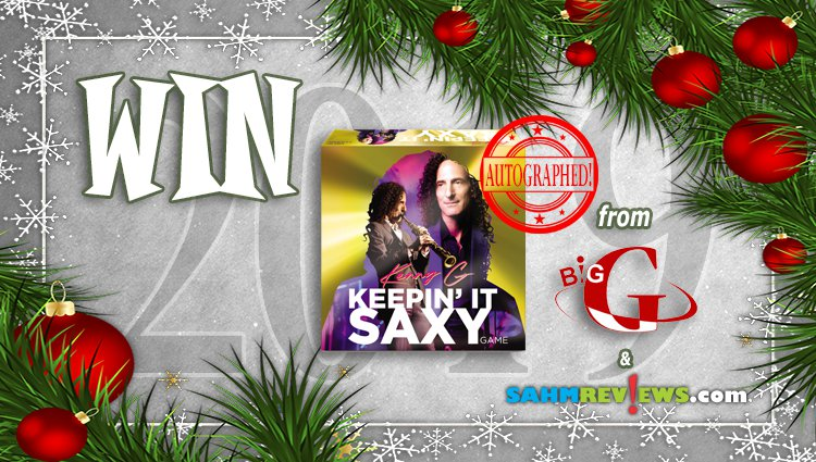 Holiday Giveaways 2019 – AUTOGRAPHED Kenny G Keepin' It Saxy by Big G Creative