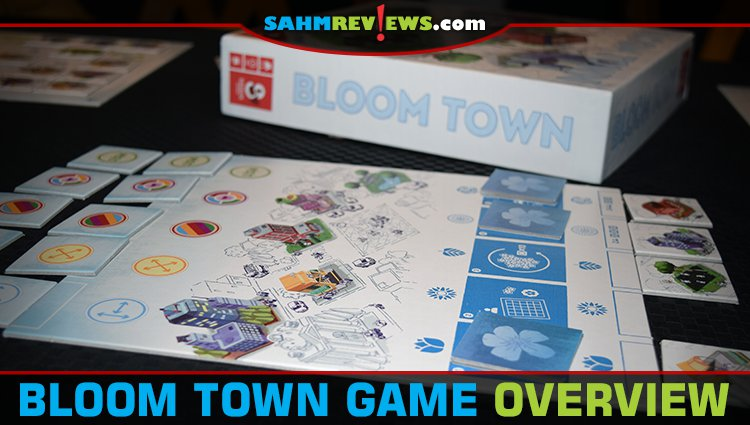 Bloom Town Tile-Laying Game Overview