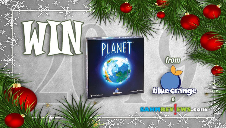 Holiday Giveaways 2019 – Planet by Blue Orange Games