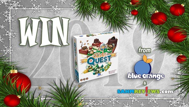 Holiday Giveaways 2019 – Slide Quest by Blue Orange Games