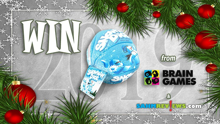 Holiday Giveaways 2019 – Snowman Dice by Brain Games