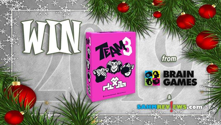 Holiday Giveaways 2019 – TEAM3 by Brain Games