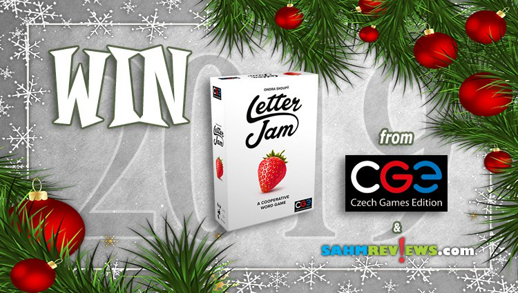Holiday Giveaways 2019 – Letter Jam by Czech Games Edition