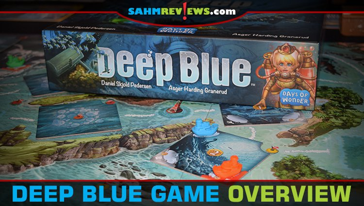 Deep Blue Board Game Overview