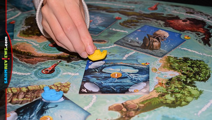 If you've ever dreamt of diving for treasure, have we got the game for you! You'll want to hold your breath for Deep Blue by Days of Wonder / Asmodee! - SahmReviews.com