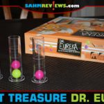 Our daughters had played Dr. Eureka by Blue Orange Games many times, but it was always a borrowed copy. Thanks to Goodwill, we now have a copy of our own! - SahmReviews.com