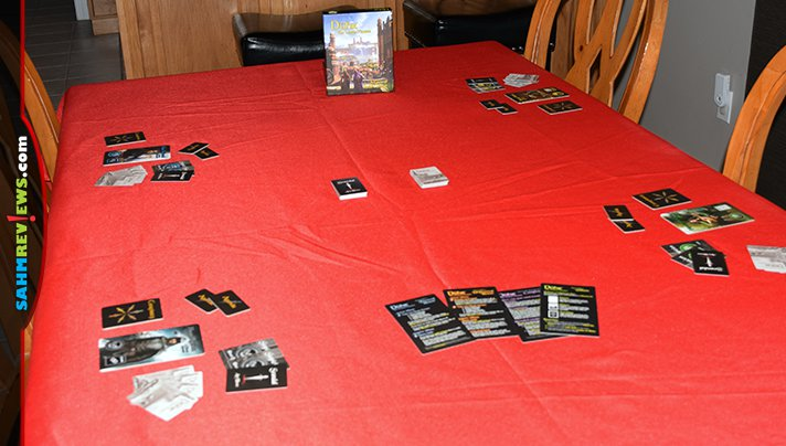 Raise suspicions to earn a higher status in Duhr The Lesser Houses social game from Devious Weasel Games. - SahmReviews.com