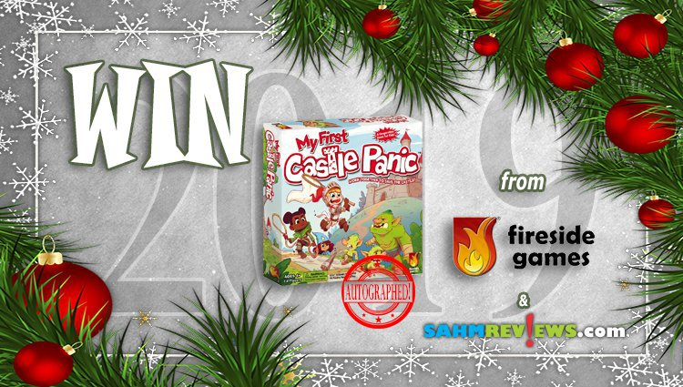 Holiday Giveaways 2019 – AUTOGRAPHED My First Castle Panic by Fireside Games