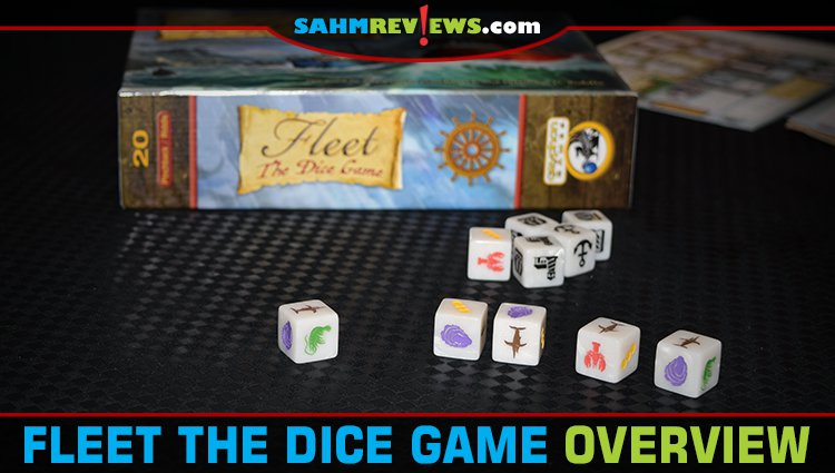 Fleet Dice Roll-n-Write Game Overview