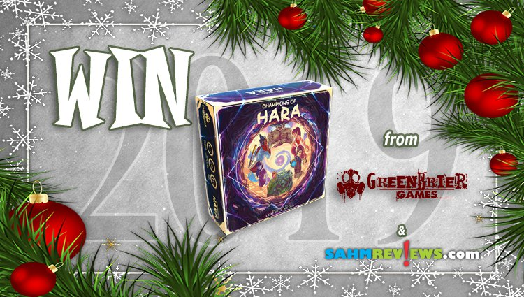 Holiday Giveaways 2019 – Champions of Hara by Greenbrier Games