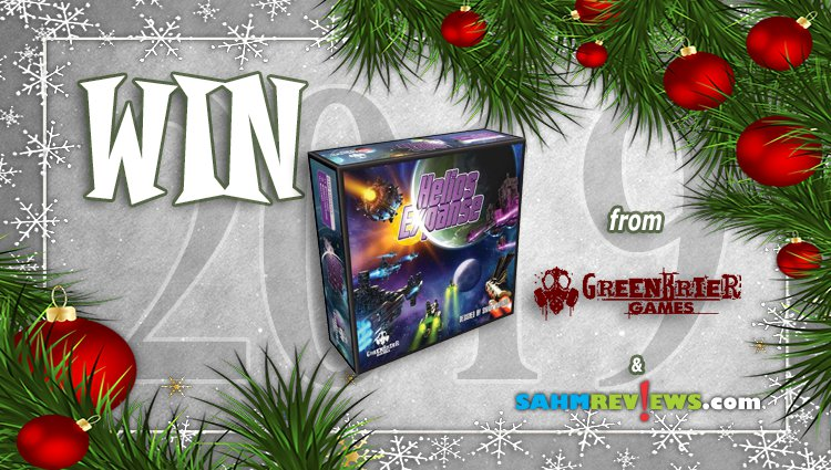 Holiday Giveaways 2019 - Helios Expanse by Greenbrier Games