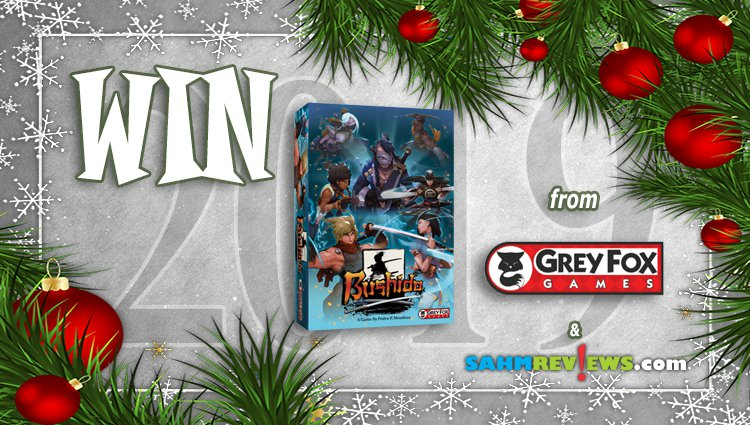 Holiday Giveaways 2019 – Bushido by Grey Fox Games