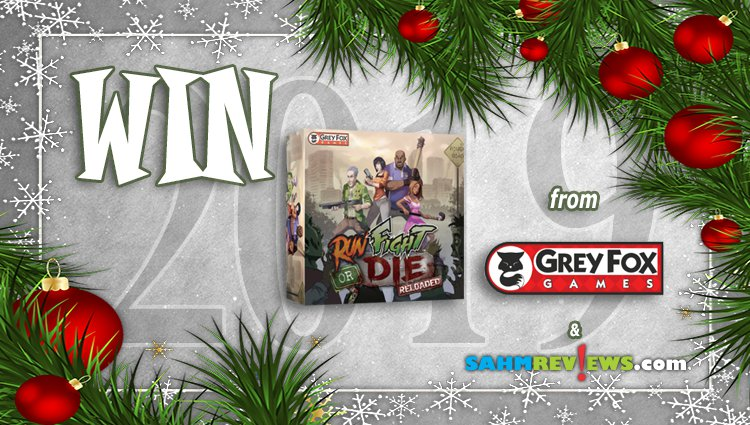 Holiday Giveaways 2019 – Run, Fight or Die: Reloaded by Grey Fox Games