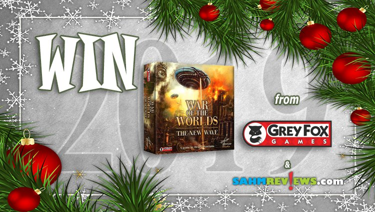 Holiday Giveaways 2019 – War of the Worlds by Grey Fox Games