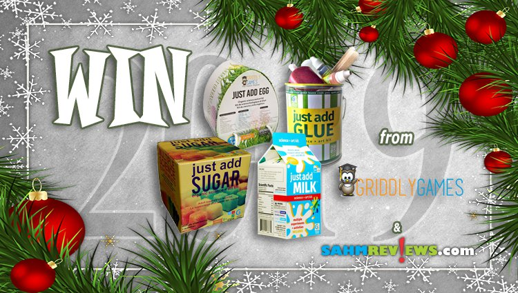 Holiday Giveaways 2019 – Just Add Prize Package by Griddly Games