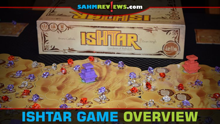 Ishtar Board Game Overview