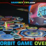 Junk Orbit by Renegade Game Studios comes up with way to deal with space trash - deliver it to cities that can recycle! Does this game foretell the future? - SahmReviews.com