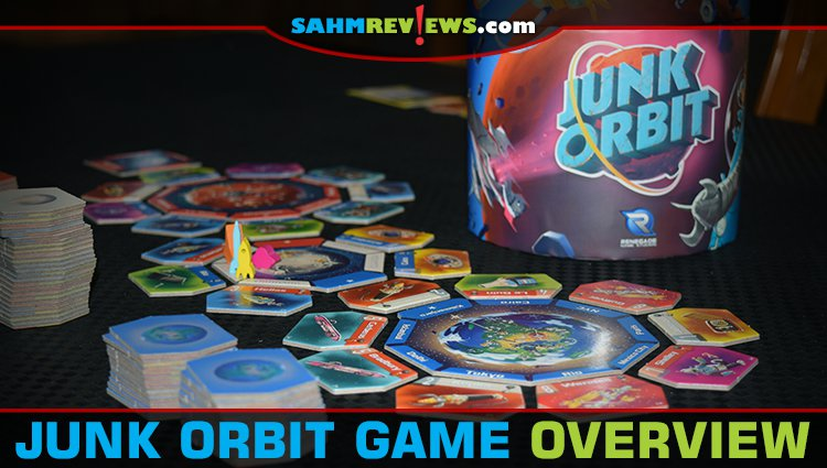 Junk Orbit Board Game Overview