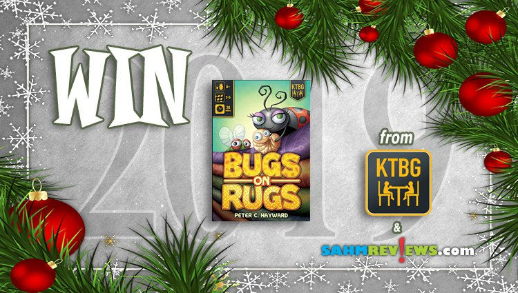 Holiday Giveaways 2019 – Bugs on Rugs by Kids Table BG