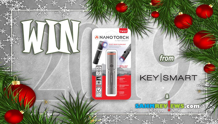 Holiday Giveaways 2019 – NanoTorch Twist by Key Smart