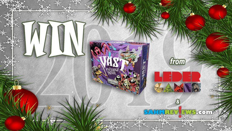 Holiday Giveaways 2019 – Vast: The Mysterious Manor by Leder Games