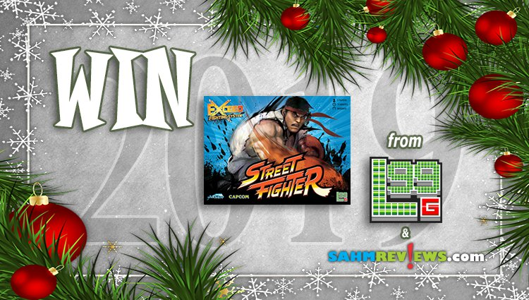 Holiday Giveaways 2019 – Exceed: Street Fighter by Level 99 Games