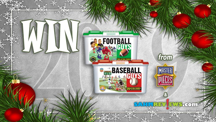 Holiday Giveaways 2019 – Football & Baseball Guys by MasterPieces