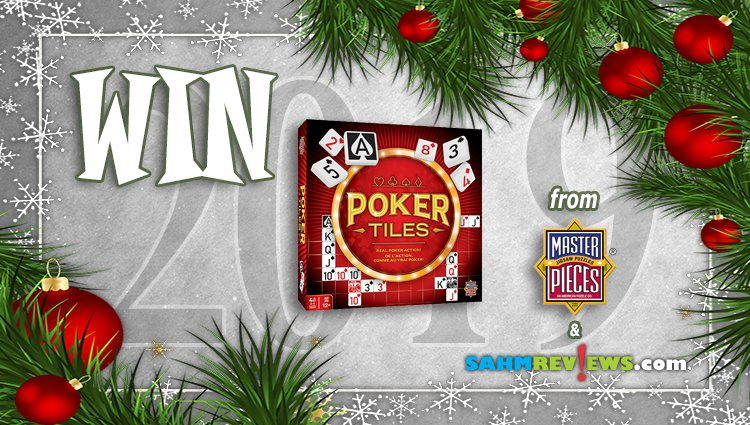 Holiday Giveaways 2019 – Poker Tiles by MasterPieces