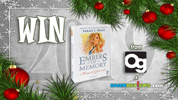 Holiday Giveaways 2019 – Embers of Memory by Osprey Games