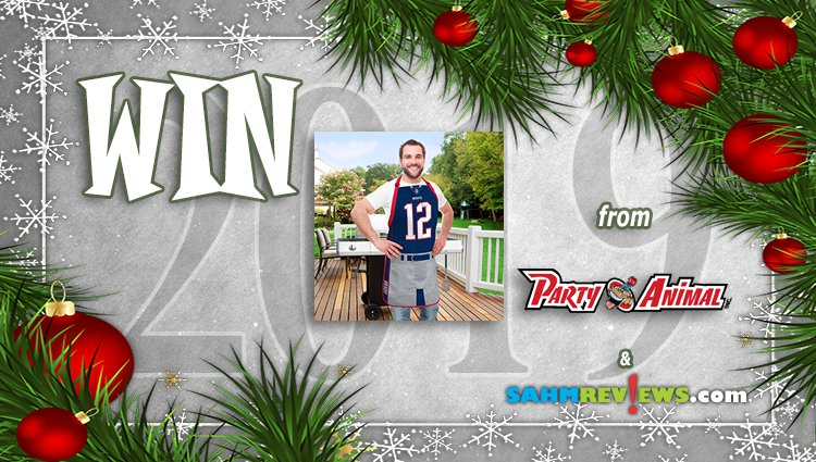 Holiday Giveaways 2019 – NFL Player Jersey Apron by Party Animal Inc.