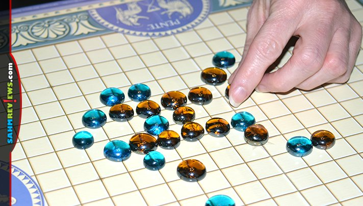 You might think this is a vintage game, but it was just invented in the late 70's! Check out this Winning Moves copy of Pente we found at Goodwill! - SahmReviews.com