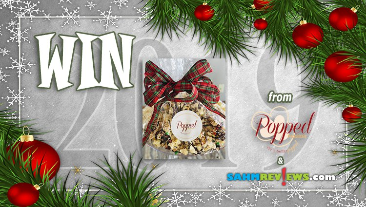 Holiday Giveaways 2019 – Gourmet Popcorn Cake from Popped Passion
