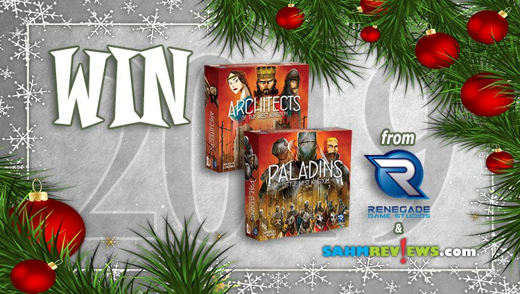 Holiday Giveaways 2019 – West Kingdom Prize Package From Renegade Game Studios