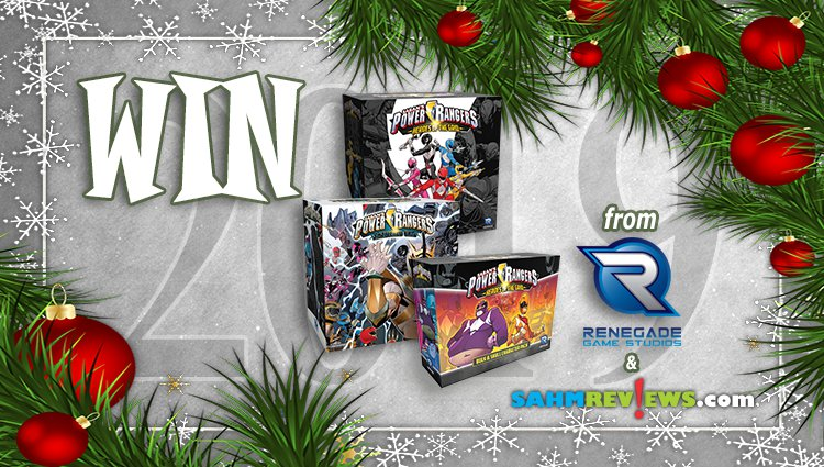 Holiday Giveaways 2019 – Power Rangers Prize Package From Renegade Game Studios