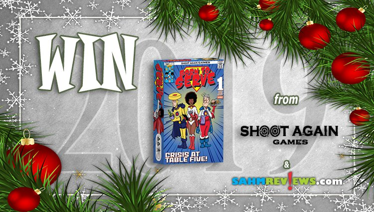 Holiday Giveaways 2019 – Born to Serve by Shoot Again Games