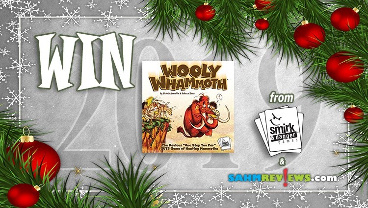 Holiday Giveaways 2019 – Wooly Whammoth by Smirk & Dagger