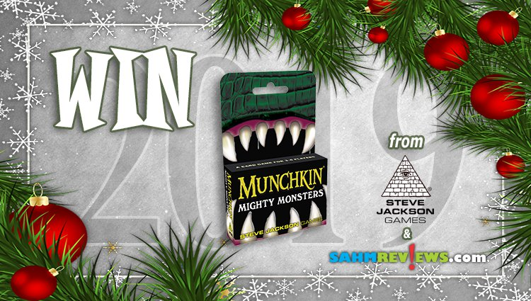 Holiday Giveaways 2019 – Munchkin Mighty Monsters by Steve Jackson Games