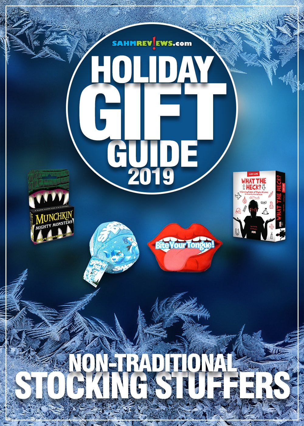 Stocking stuffers don't have to be candy and sweets. Think outside the box with these inexpensive game and toy ideas in our Holiday Gift Guide! - SahmReviews.com