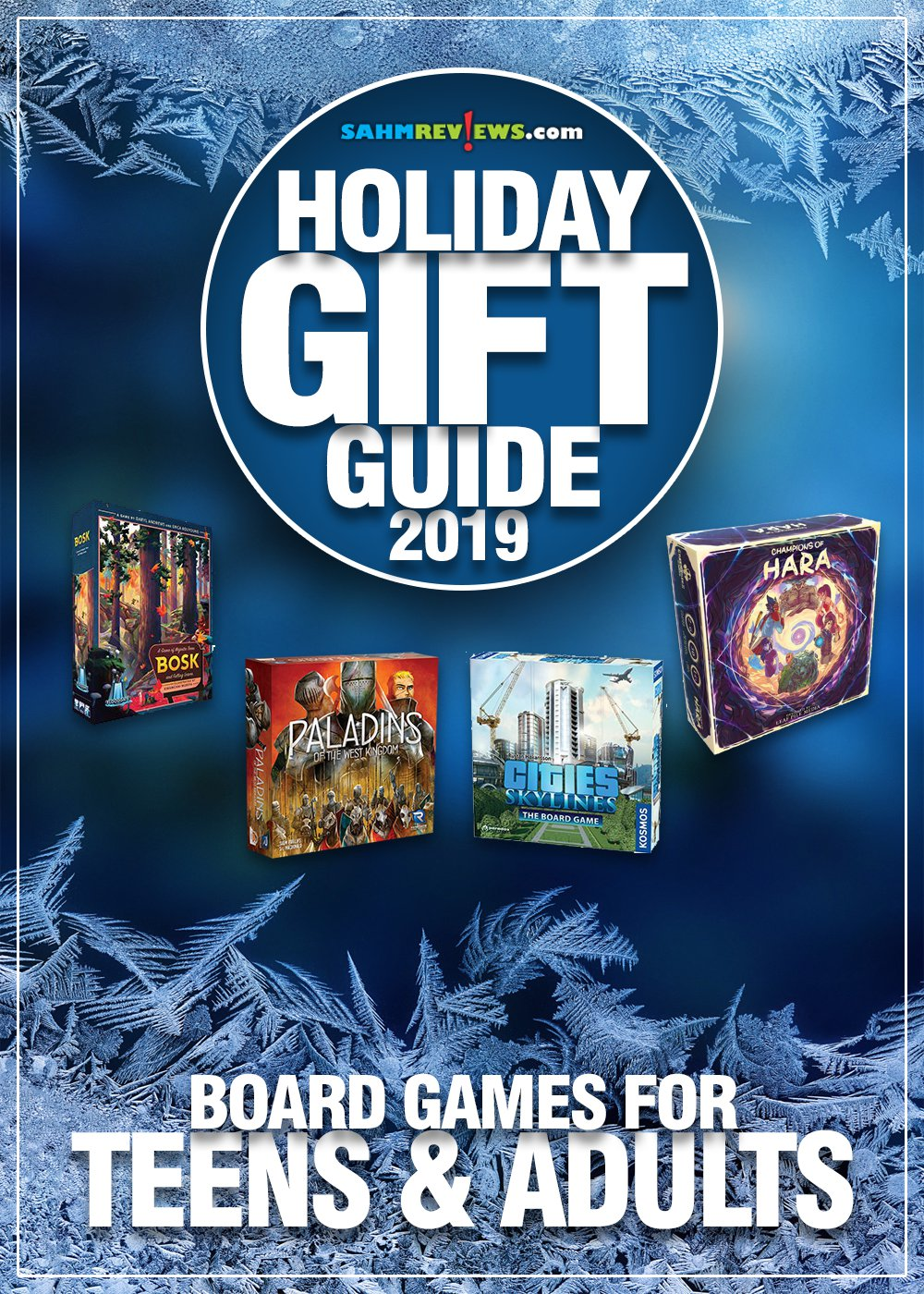 "The hardest gifts to buy are those for those older ""kids"" in the family. This list of games for teens & adults will make you the star of game night! - SahmReviews.com"