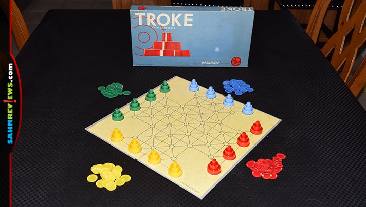 "There have been a ton of ""better checkers"" games made over the years. This thrift find from the late 50's/early 60's got close. Check out Troke! - SahmReviews.com"