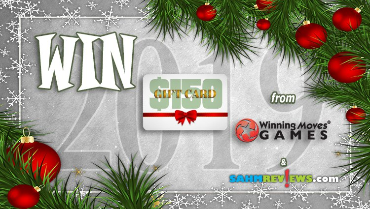 Holiday Giveaways 2019 – Winning Moves $150 Gift Card