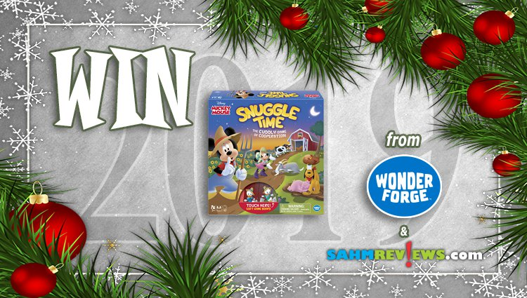 Holiday Giveaways 2019 – Disney Snuggle Time by Wonder Forge