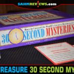 This thrift store find was a nice balance between puzzle difficulty, trivia and game length. Find out why we think 30 Second Mysteries deserves a chance! - SahmReviews.com