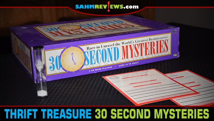 Thrift Treasure: 30 Second Mysteries