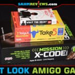 Boasting five rules or less for their line of family games, AMIGO Games makes it a quick and easy process to get games to the table. - SahmReviews.com