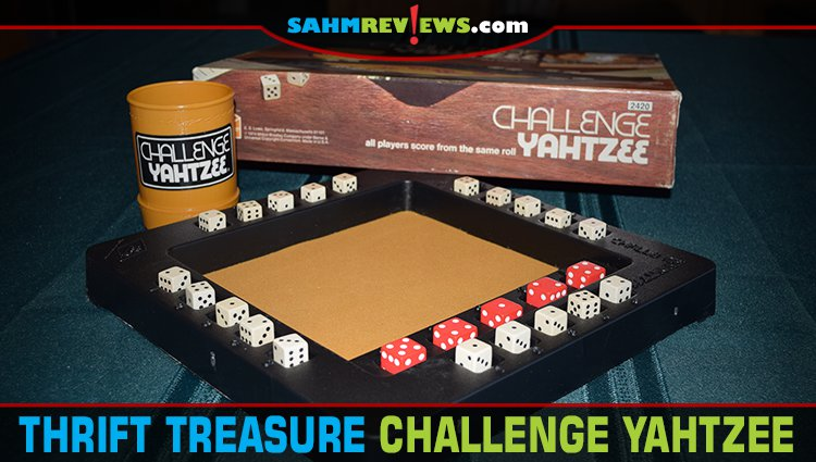 Thrift Treasure: Challenge Yahtzee