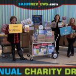 We delivered over $15,000 worth of toys, games and other items to the University of Iowa Stead Family Children's Hospital during our holiday charity drive. - SahmReviews.com